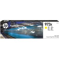 HP 973X High Yield Yellow Original PageWide Cartridge - F6T83AE