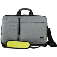 Techair EVO Magnetic 15.6 Laptop Shoulder Bag - Grey