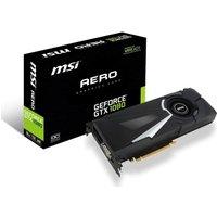 MSI GTX 1080 AERO OC 8GB GDDR5X Graphics Card
