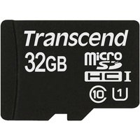Transcend 32GB microSDHC Flash memory card