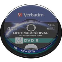 Verbatim M-Disc DVD R 10 Pack Spindle