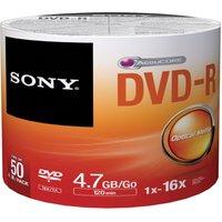 Sony DVD-R 16x Spindle Bulk 50Pcs
