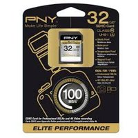 PNY Elite Performance 32GB SDHC UHS-I Flash memory card