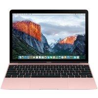 "Apple MacBook, Intel Core M5 CPU 1.2GHz, 8GB RAM, 512GB Flash, 12"" IPS 2304 x 1440, No-DVD, Intel HD, WIFI, OS X 10.11 El Capitan - Rose Gold"
