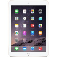 Apple iPad Air 2, A8X CPU, 32GB Flash, 9.7in Retina, Wifi, Cellular + Apple Sim, Camera, Bluetooth, Apple OS 10 - Gold