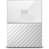 WD My Passport 1TB Portable Hard Drive - White