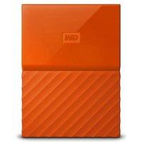WD My Passport 1TB Portable Hard Drive - Orange