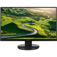 K272HLEbid 69cm (27'') Wide 4ms 100M:1 ACM 300nits VA LED DVI (w/HDCP) HDMI EURO/UK EMEA MPRII Black Acer EcoDisplay