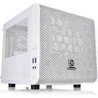 Thermaltake Core V1 Snow Mini-ITX Cube Case With Side Window