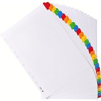Exacompta A4 31 Part Printed Mylar Dividers
