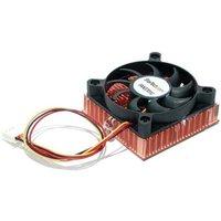 StarTech 1U  Socket 7/370 CPU Cooler Fan With Copper Heatsink