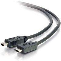 2M USB 2.0 USB-C TO USB-Mini B Cable M/M - Black