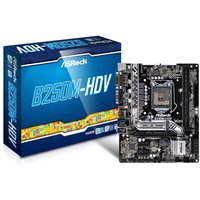 Asrock B250M-HDV Intel Socket 1151 mATX Motherboard