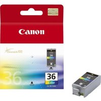 Canon CLI-36 Colour Inkjet Cartridges (2 Pack)