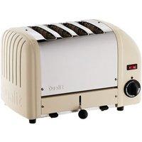 Dualit 4 Slice Vario Toaster Utility Cream