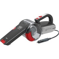 Black And Decker 12V Car Handheld Dustbuster Pivot Grey and Red