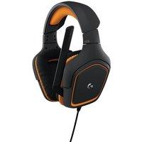 Logitech G231 Prodigy Gaming Headset with folding unidirectional Mic