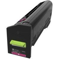 Lexmark 22K Magenta Return Program Toner Cartridge (CS820)