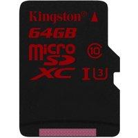 Kingston Gold 64GB UHS-I Speed Class 3 microSD Card