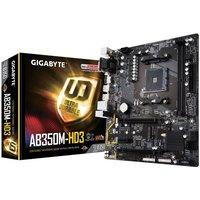 *Gigabyte AB350M-HD3 AMD Ryzen Socket AM4 Motherboard
