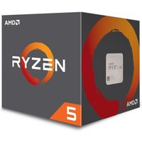 AMD Ryzen 5 1400 Quad Core AM4 CPU/Processor with Wraith Stealth 65W cooler