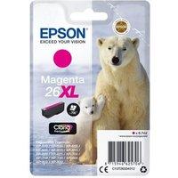 Image of Epson 26XL Magenta Inkjet Cartridge
