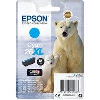 Image of Epson 26XL Cyan Inkjet Cartridge