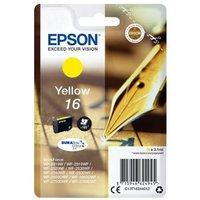 Image of Epson 16 Yellow Inkjet Cartridge