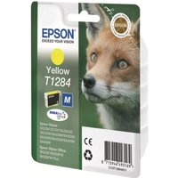 Image of Epson T1284 Yellow Inkjet Cartridge