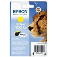 Image of Epson T0714 Yellow Inkjet Cartridge