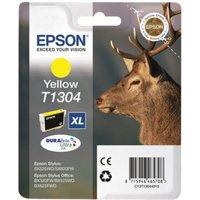 Image of Epson T1304 XHY Yellow Inkjet Cartridge