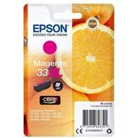 Image of Epson 33XL Magenta Inkjet Cartridge