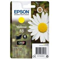 Image of Epson 18 Yellow Inkjet Cartridge