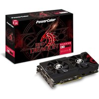 Powercolor AMD RX 570 4GB DDR5 RED DRAGON Graphics Card sale image