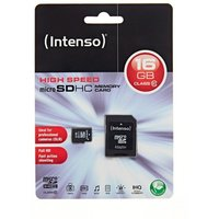 Intenso 16gb Class 10 Micro Sd Card W/a