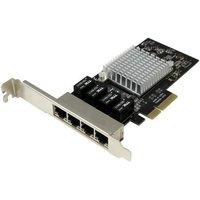 4-Port Gigabit Ethernet Network Card PCI Express, Intel I350 NIC