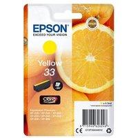 Image of Epson 33 Yellow Inkjet Cartridge