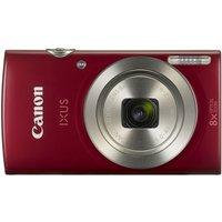 Canon IXUS 185 Camera Red 20MP 8x Zoom HD