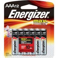 Energizer Max E92/aaa Pk12