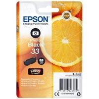 Image of Epson 33 Photo Black Inkjet Cartridge