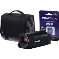 Canon Legria HF R88 Black Camcorder Kit inc Wide Angle Adapter  32GB Card & Case