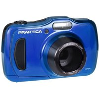 PRAKTICA Luxmedia WP240 Waterproof Camera Blue 20MP 4xZoom 64MB Internal Memory