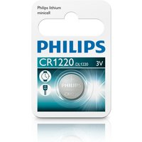 Philips Lithium Coin CR1220 Pack of 1 sale image