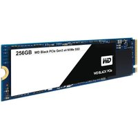 WD Black PCIe NVMe 256GB SSD