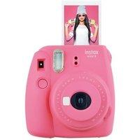 Fujifilm Instax Mini 9 Flamingo Pink Instant Camera inc 10 Shots