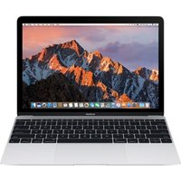 Apple MacBook, Intel Core M3 1.2GHz, 8GB RAM, 256GB SSD, 12 IPS 2304x1440 , No-DVD, Intel HD, WIFI, macOS Sierra - Silver
