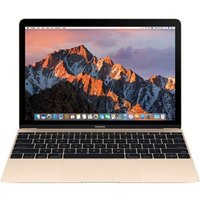 Apple MacBook, Intel Core M3 1.2GHz, 8GB RAM, 256GB SSD, 12 IPS 2304x1440 , No-DVD, Intel HD, WIFI, macOS Sierra - Gold