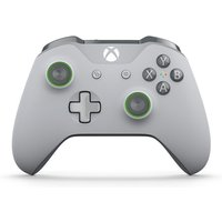 Xbox One Branded WL Controller Grey/Green