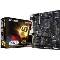 Gigabyte A320M-HD2 AM4 DDR4 mATX Motherboard