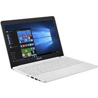 ASUS Vivobook E12 E203NA Laptop, Intel Celeron N3350 1.1GHz, 2GB RAM, 32GB eMMC, 11.6 LED, No-DVD, Intel HD, WIFI, Webcam, Bluetooth Windows 10 Home - White